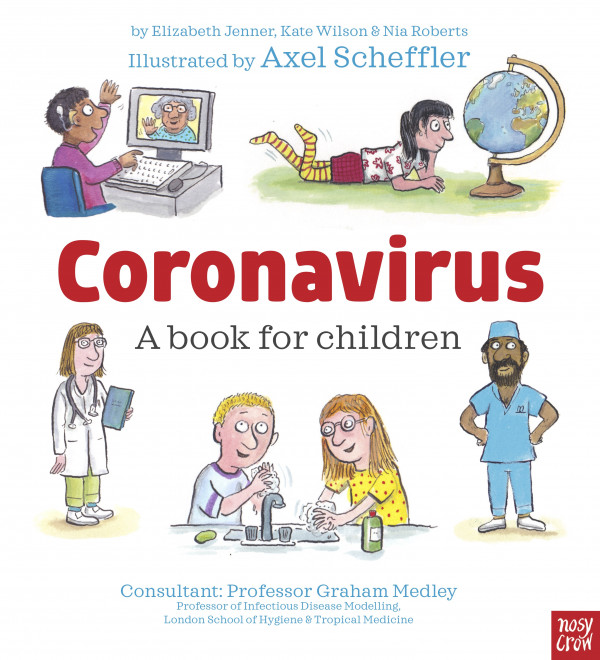 Coronavirus - a book for children book cover