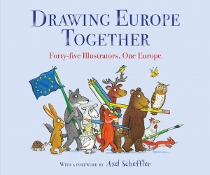 Drawing Europe Together: Forty-five Illustrators, One Europe book cover