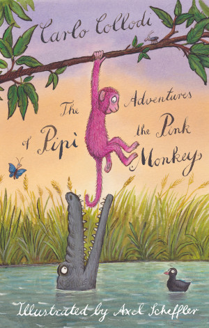 The Adventures of Pipi the Pink Monkey book cover