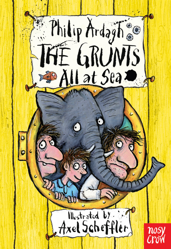 The Grunts all at Sea book cover