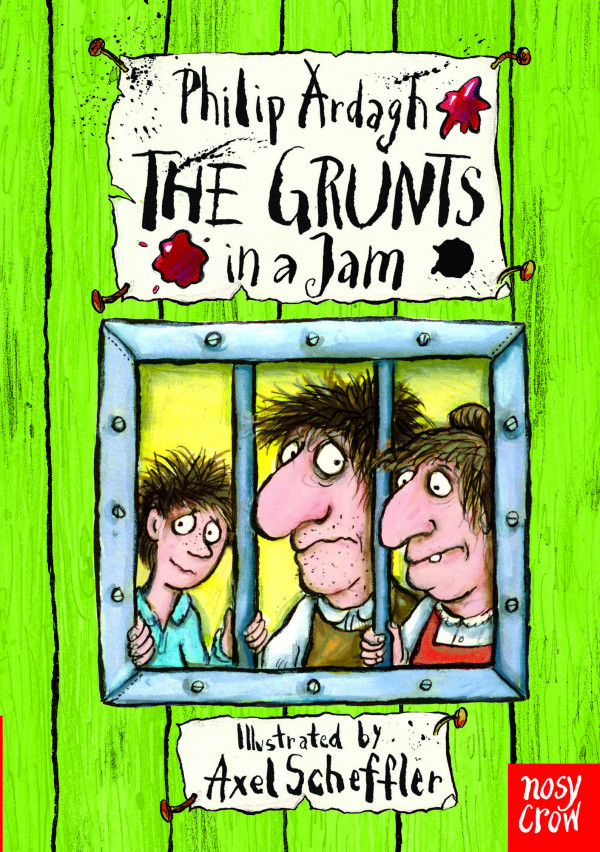 The Grunts in a Jam book cover