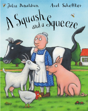 A Squash and a Squeeze book cover