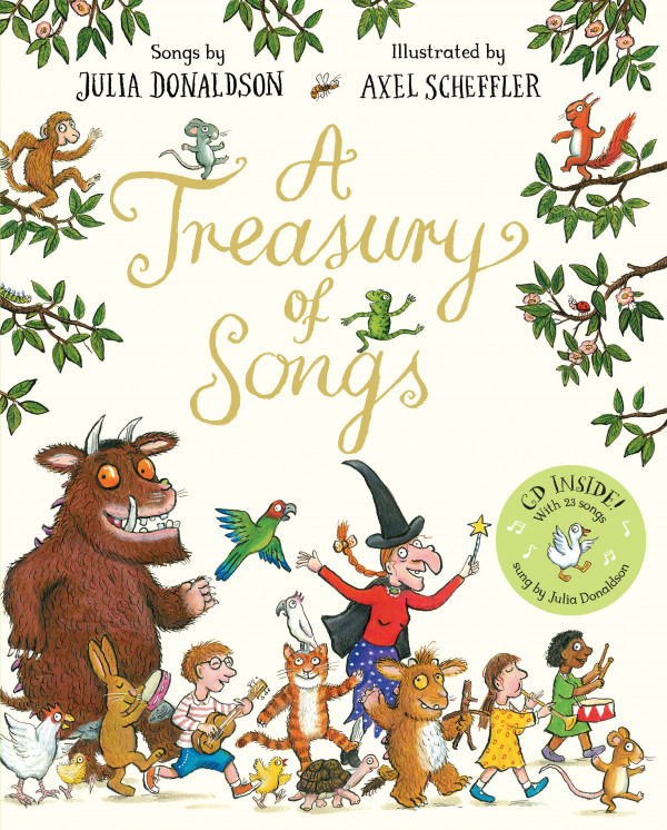 A Treasury of Songs book cover