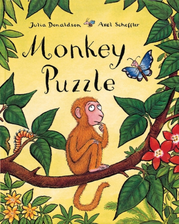 Monkey Puzzle book cover
