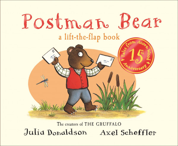 Postman Bear book cover