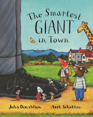 The Smartest Giant in Town book cover