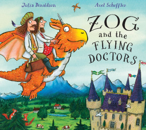 Zog and the Flying Doctors book cover