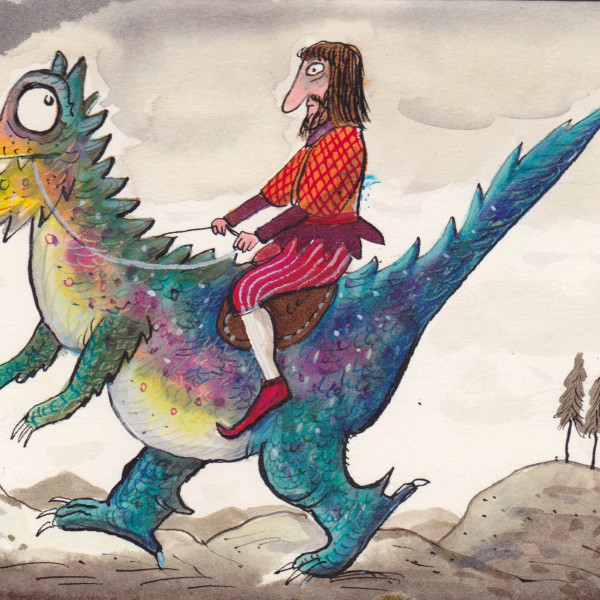 dragon prince illustration