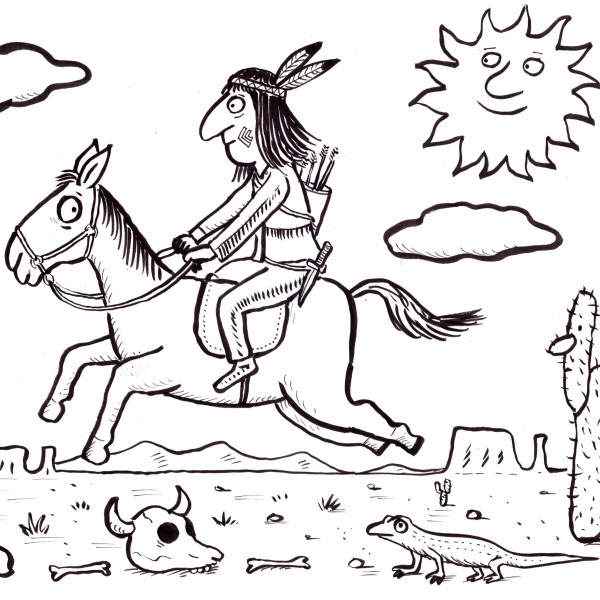 Native American illustration