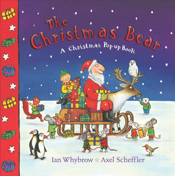 The Christmas Bear book cover