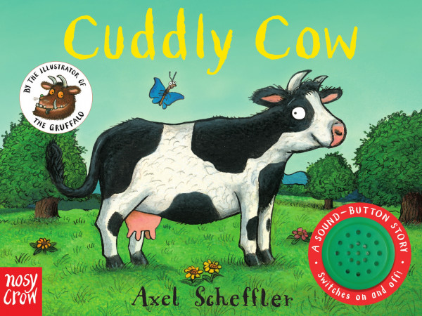 Cuddly Cow book cover