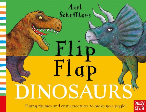 Flip Flap Dinosaurs book cover