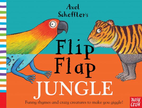 Flip Flap Jungle book cover