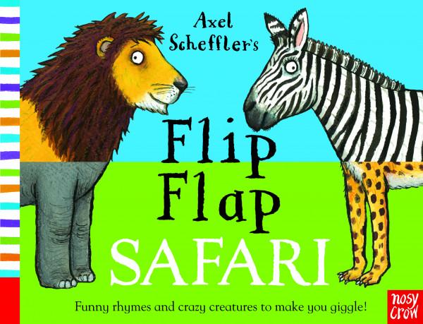 Flip Flap Safari book cover