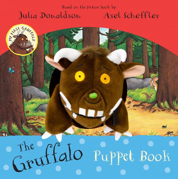 The Gruffalo Puppet Book book cover