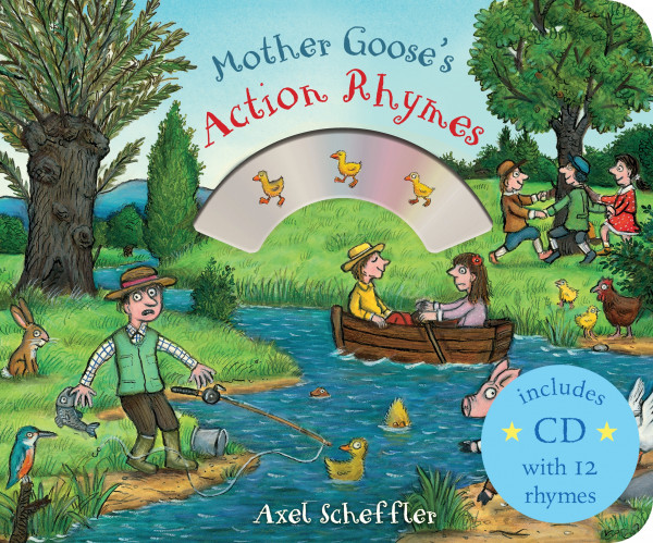 Mother Goose's Action Rhymes book cover