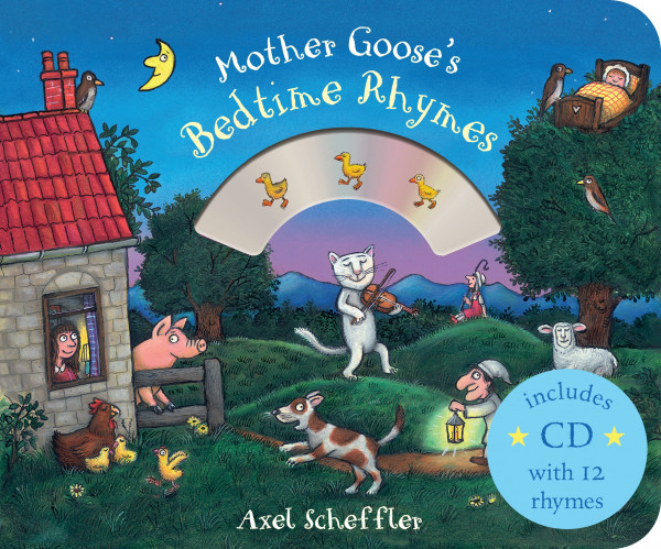 Mother Goose's Bedtime Rhymes book cover