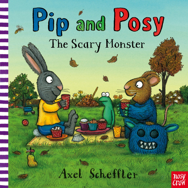 Pip and Posy: The Scary Monster book cover