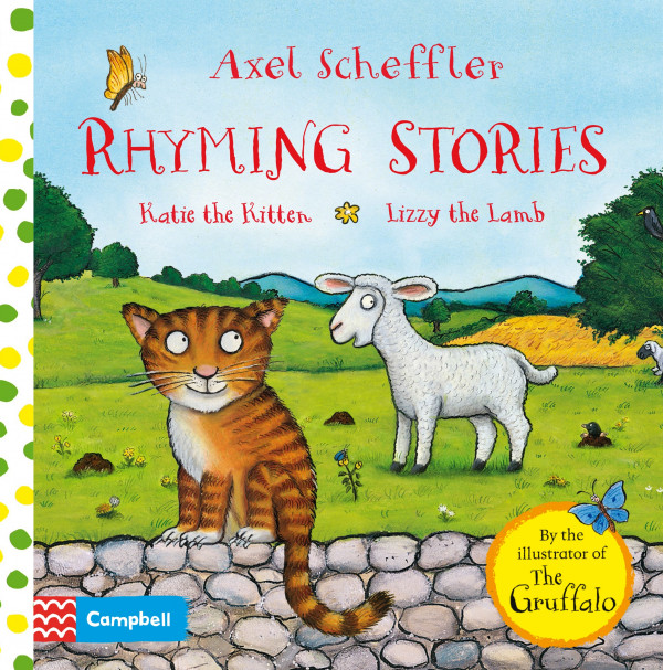 Rhyming Stories: Katie the Kitten and Lizzy the Lamb book cover