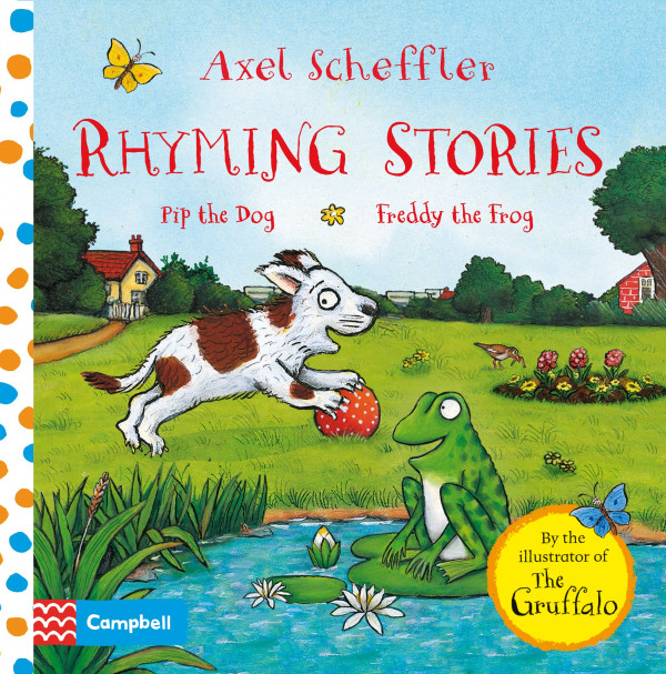 Rhyming Stories: Pip the Dog and Freddy the Frog book cover